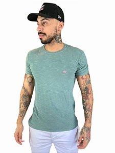 Camiseta Osklen Slim Rough Coroa Colors