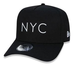 Boné New Era 9Forty K-Frame NYC Preto