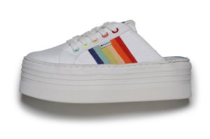 Tênis Farm Sup Mule Raibow Off White