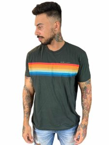Camiseta Osklen Regular Vintage Listras