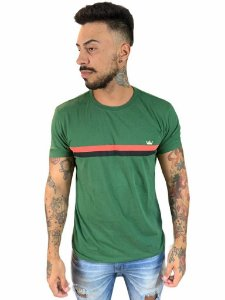Camiseta Osklen Slim Vintage Listras