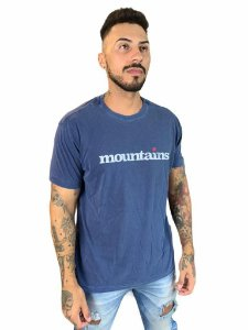Camiseta Osklen Regular Stone Mountains