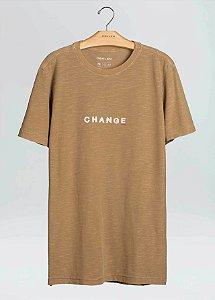 Camiseta Osklen Slim Rough Change