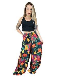 Calça Farm Pantalona Dança do Caju