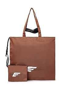 Bolsa Ellus Shopping Bag Assinatura feminina