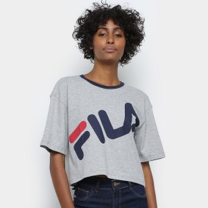 Cropped Fila Letter Big