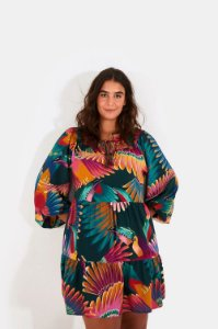 Vestido Farm Curto Frescor de Tucanos