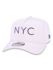 Boné New Era 9Forty K-Frame NYC Rosa