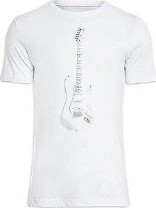 Camiseta Osklen Slim Guitarra Masculina