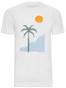 Camiseta Osklen Slim Stone Summertime