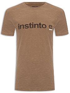 Camiseta Osklen Slim Rough Instinto