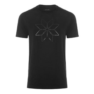 Camiseta Osklen Regular Vintage BlackFlake