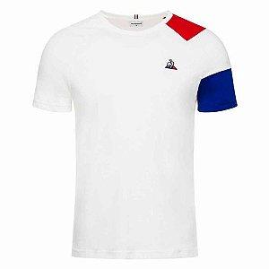 Camiseta Le Coq Sportif Bar a Tee Ess Tee SS N°10 Branca