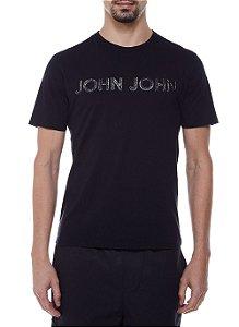 Camiseta John John Rusty John Black Masculina