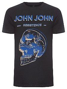 Camiseta John John Rg Blue Skull Masculina