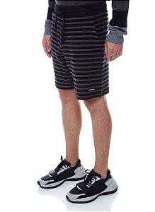 Bermuda John John Moletom Jake Stripes Masculina
