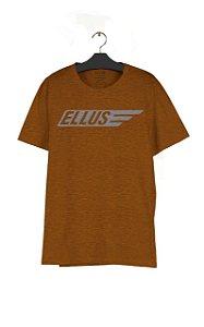 Camiseta Ellus Melange Maxi Italic Masculina
