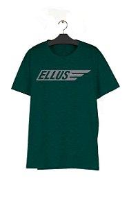 Camiseta Ellus Melange Maxi Italic Classic Masculino