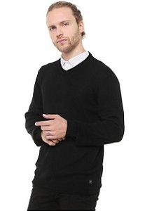 Suéter Tricot Ellus Cotton Basic Médium  Dec V Masculino