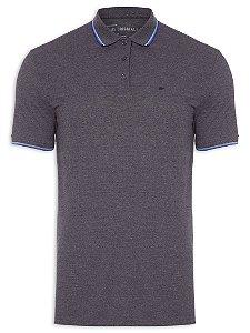 Camisa Polo Ellus E ASA Frisos Classic Tinto Masculino