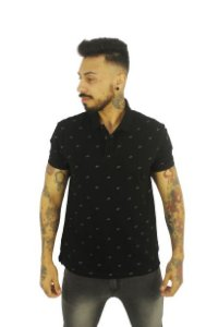 Camisa Polo Ellus Easa All Over Classic Masculina