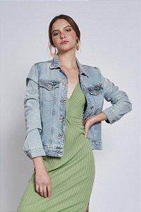 Jaqueta Colcci Jeans Bomber Feminina