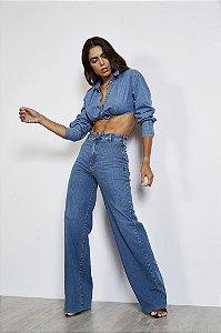 Camisa Jeans Colcci Feminina