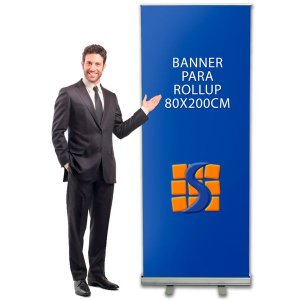 Banner para Suporte Roll up 80x200