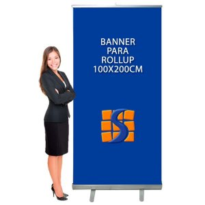 Banner para Suporte Roll Up 100x200