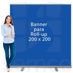 Banner para Suporte Roll Up 200x200