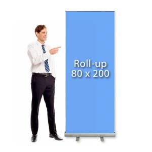 Porta Banner Roll Up 80x200