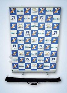 Porta Banner Roll UP - Modelo 120 x 200 - R1C