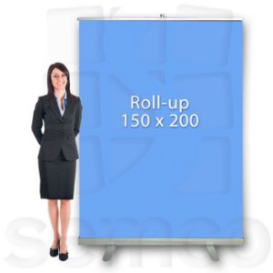 Porta Banner Roll Up 150x200