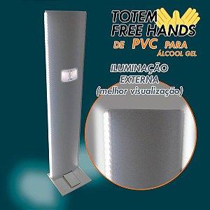 Iluminação Externa p/ Totem Higienizador