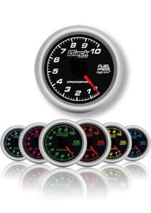 Pressão Combustível 60mm/Mec./0-10kg - Black Series
