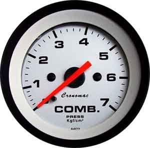 Pressão de Combustível 52mm/Mec./0-7Kg - Street