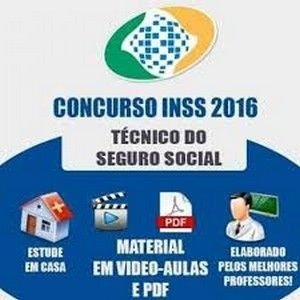Concurso INSS - Apostilas e Video-Aulas - Técnico e Analista