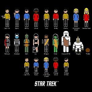 Adesivo - Família Star Trek