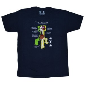 Camiseta - Creeper Anatomy