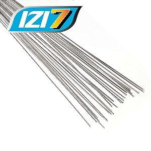 Kit 10 unidades Vareta para Solda Alumínio x Alumínio com Fluxo Izi7 Migrare