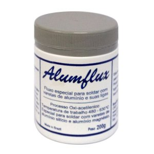 Fluxo E Decapante P/ Solda Alumínio E Ligas De Alumínio 50g