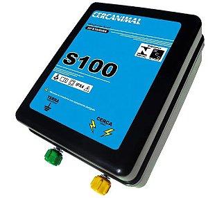 Cerca Elétrica Rural Cercanimal 300 km - Eletrificador de Cerca mod. S100