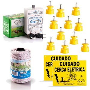 Cerca Eletrica para Gado - Kit Completo