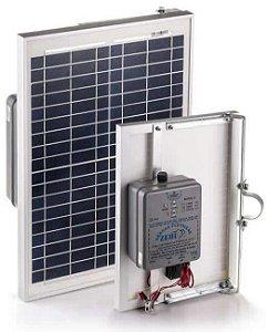 Cerca Elétrica Solar com Placa Zebu Zs80i - Eletrificador Rural com Placa Solar