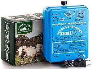 Cerca Elétrica Rural Zebu 200 km - Eletrificador de cerca ZK200