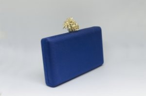 Clutch Azul Marinho