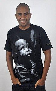 Camiseta Básica Criança Africana
