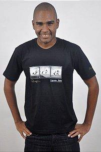 Camiseta Básica Triptica Capoeira