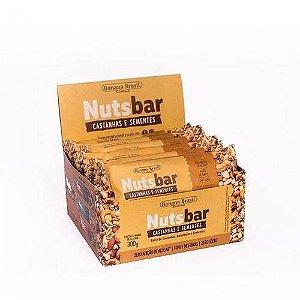 Barra de Castanhas e Sementes Nuts Bar Banana Brasil 12x25g