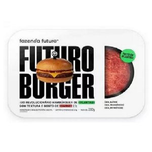 Hambúrguer de Carne Vegetal FUTURO BURGER 230g